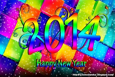 Idée sms bonne année  2014