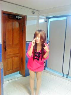 Khmer girl Coca Mini with short jean 6