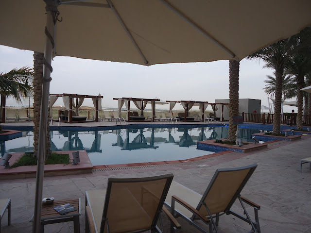 Swimming Pool of Park Inn hotel Yas Island Abu Dhabi