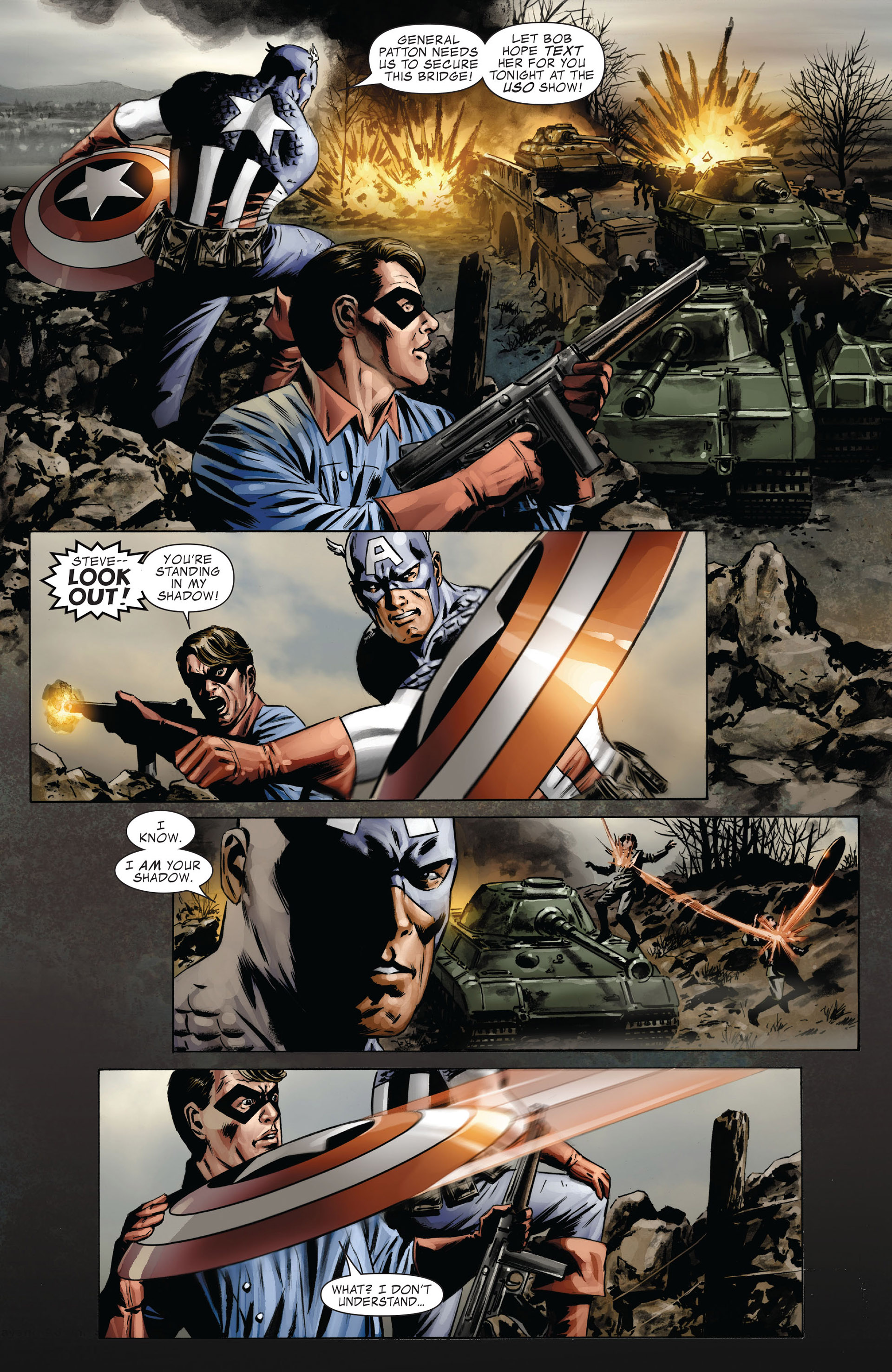 Captain America (2005) Issue #37 #37 - English 18