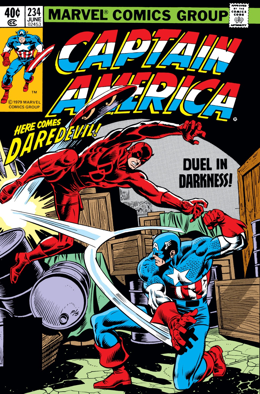 Captain America (1968) Issue #234 #149 - English 1