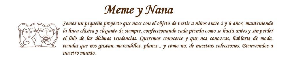 Meme y Nana