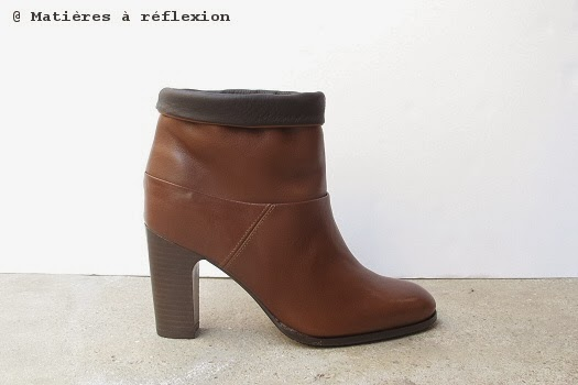 Low boots Atelier do Sapato cuir cognac