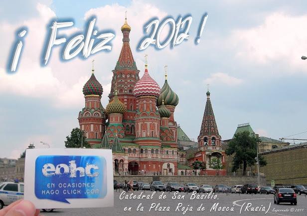 Catedral de San Basilio, en la Plaza Roja de Moscú en Rusia