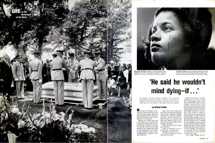 Medgar Evers Autopsy Photos The funeral of medgar evers