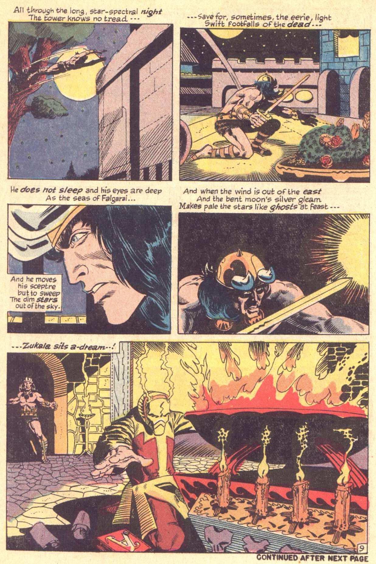 Conan the Barbarian (1970) Issue #5 #17 - English 10