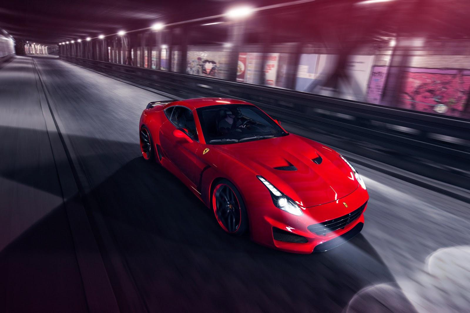 Novitec S New Widebody Ferrari California T N Largo