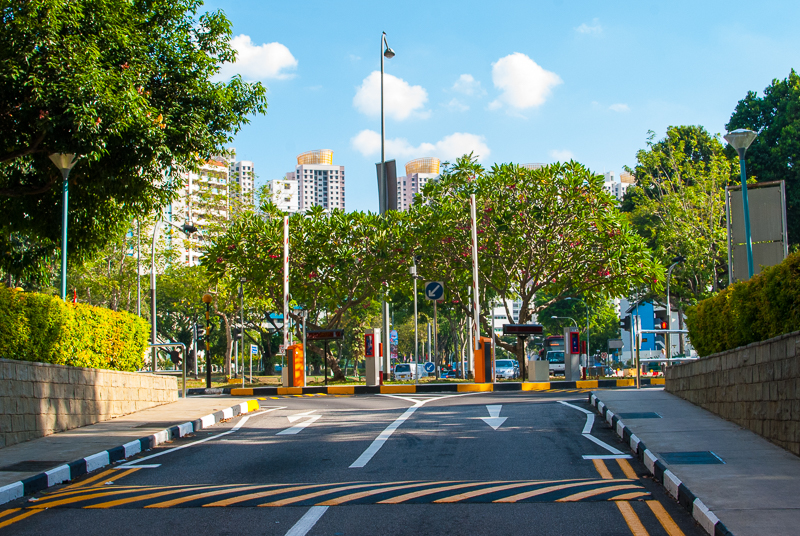 Image of singapore streets in the residential area