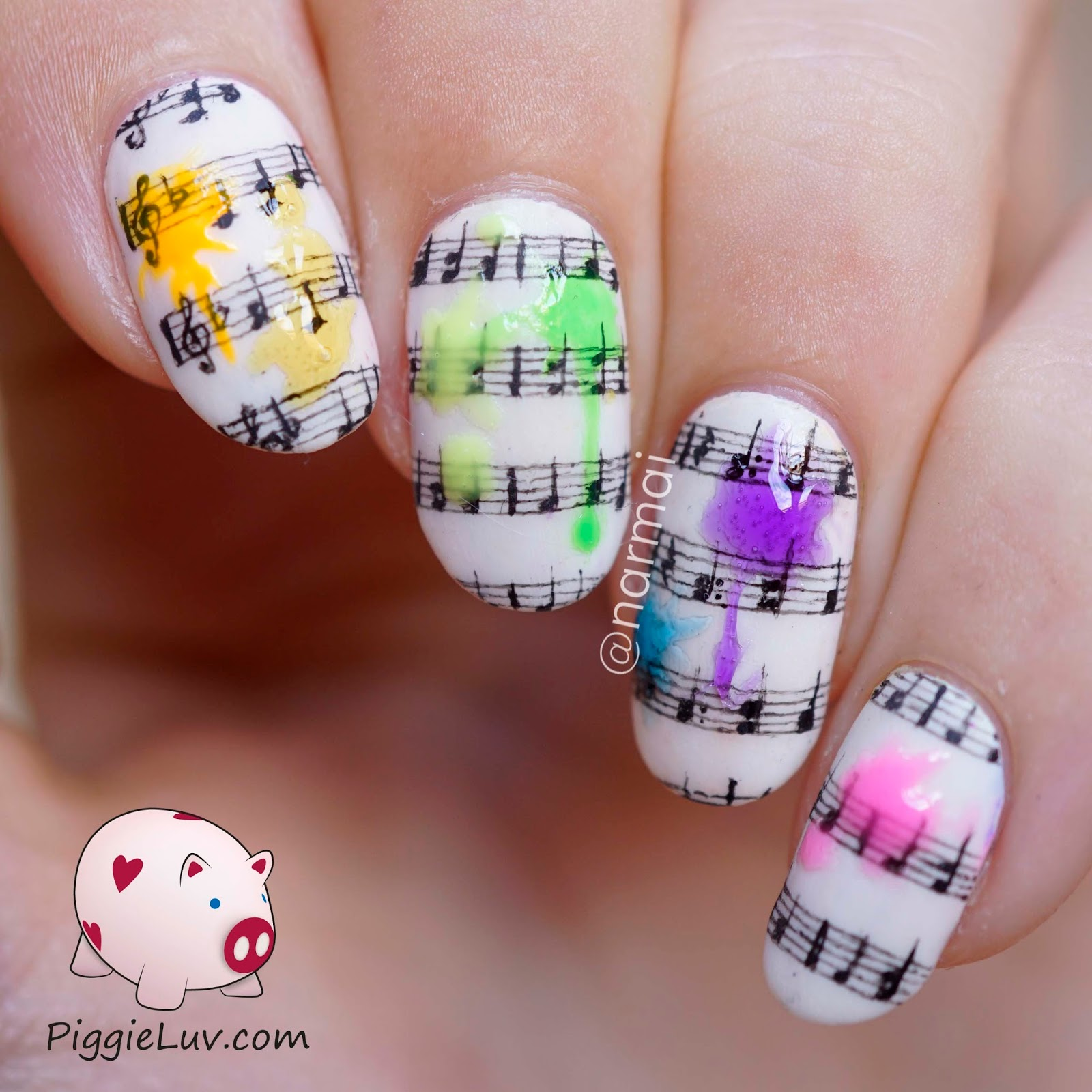 Piggieluv 1 nail art design 4 ways video tutorial i removed the liquid palisade to reveal a fail p i think the one in the video turned out a bit better but the whole idea just didnt work out the way prinsesfo Choice Image