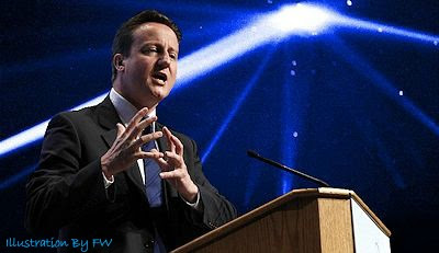 Prime Minister David Cameron Talking UFOs (Edt 400 px)