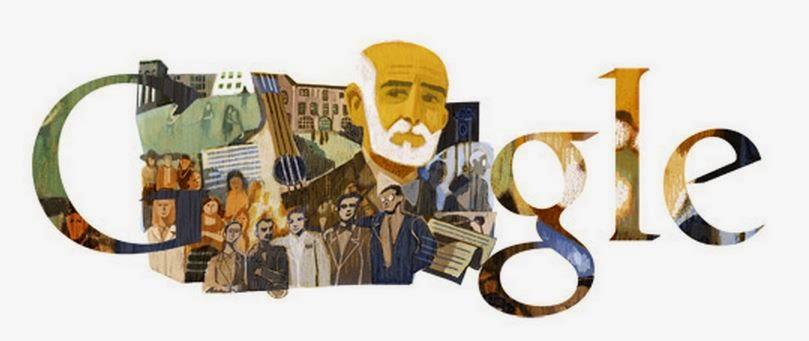 Google y el 175 Aniversario del Nacimiento de Giner de los Ríos