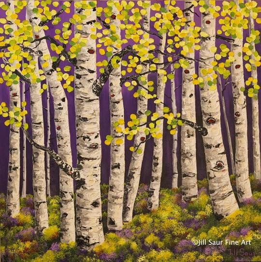 aspen tree art