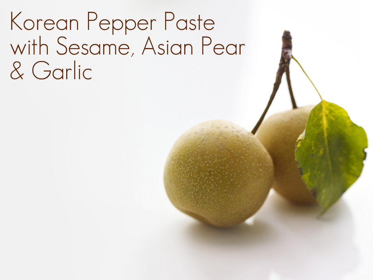 Asian pear butter yessss