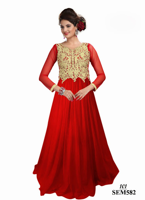 New Style Gown Type Anarkali Suit – Wholesale