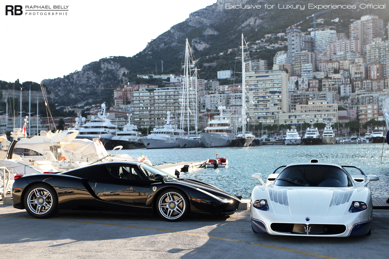 Passion For Luxury : Monaco super cars photography by Raphaël Belly