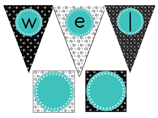 Teal And Black Classroom Decor | Modern World Furnishin Designer Blog