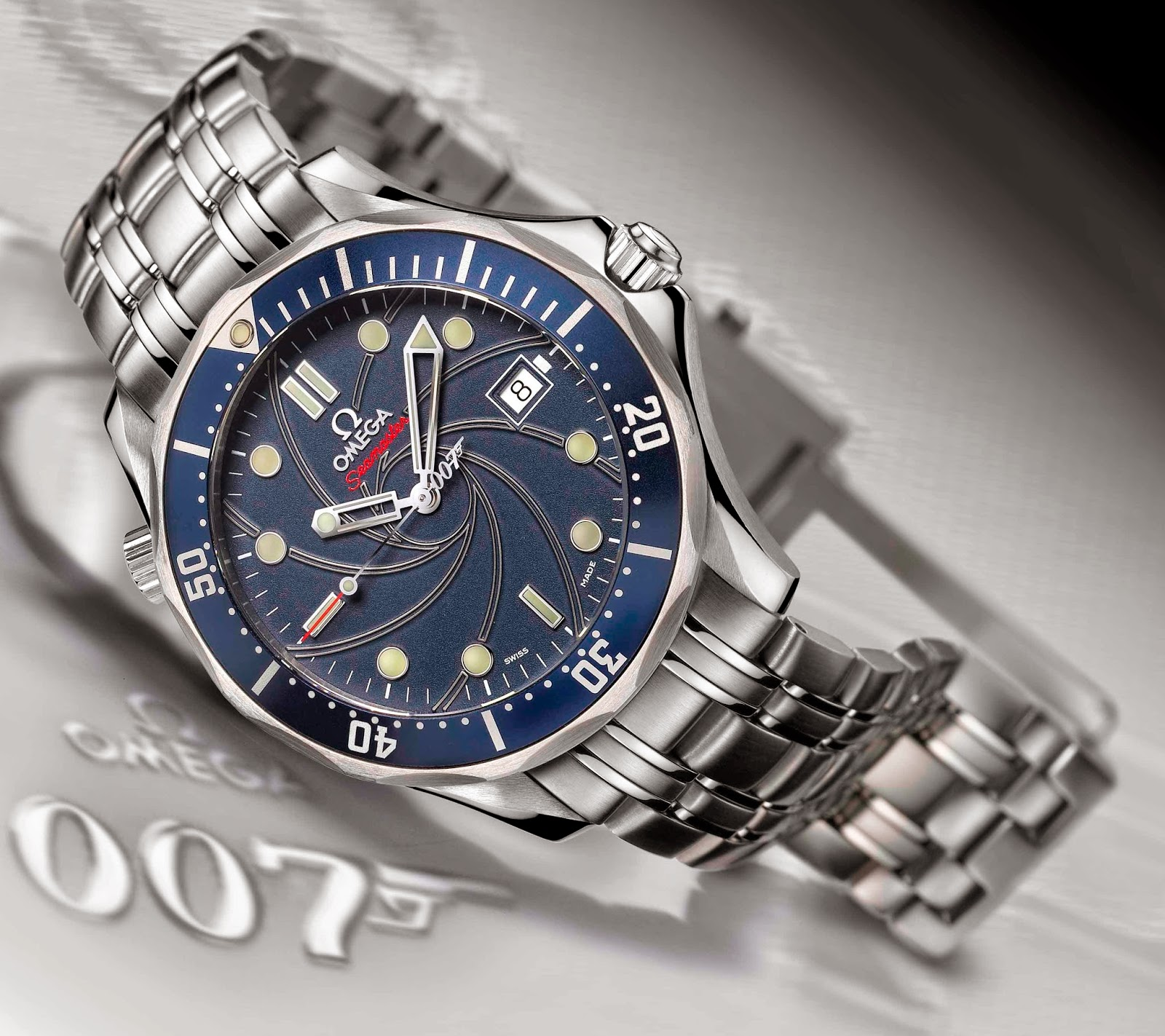 Omega Seamaster James Bond watch replica