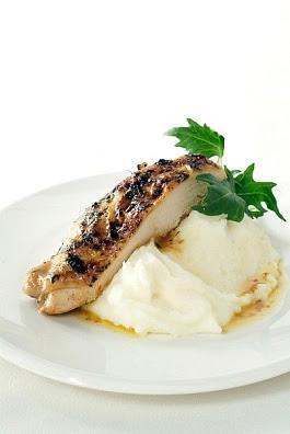 Pure de papa con pollo