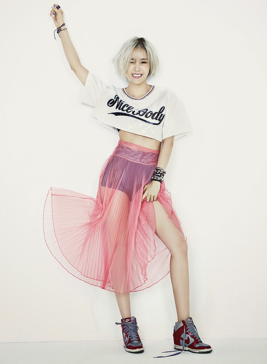 Hyomin T-ara Nice Body Teasers