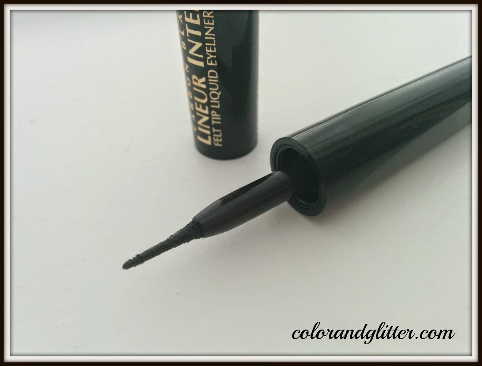 Color and Glitter: Product Review: L'Oréal Lineur Intense Felt Tip ...