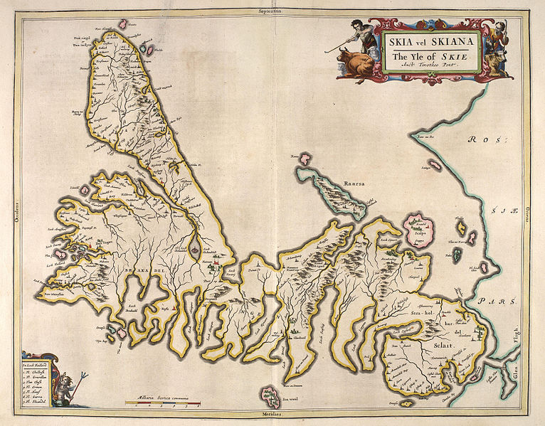 Australia Island Of Skye Maps