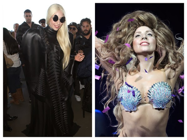 Lady Gaga's Special Dress Up with Her Special Glasses