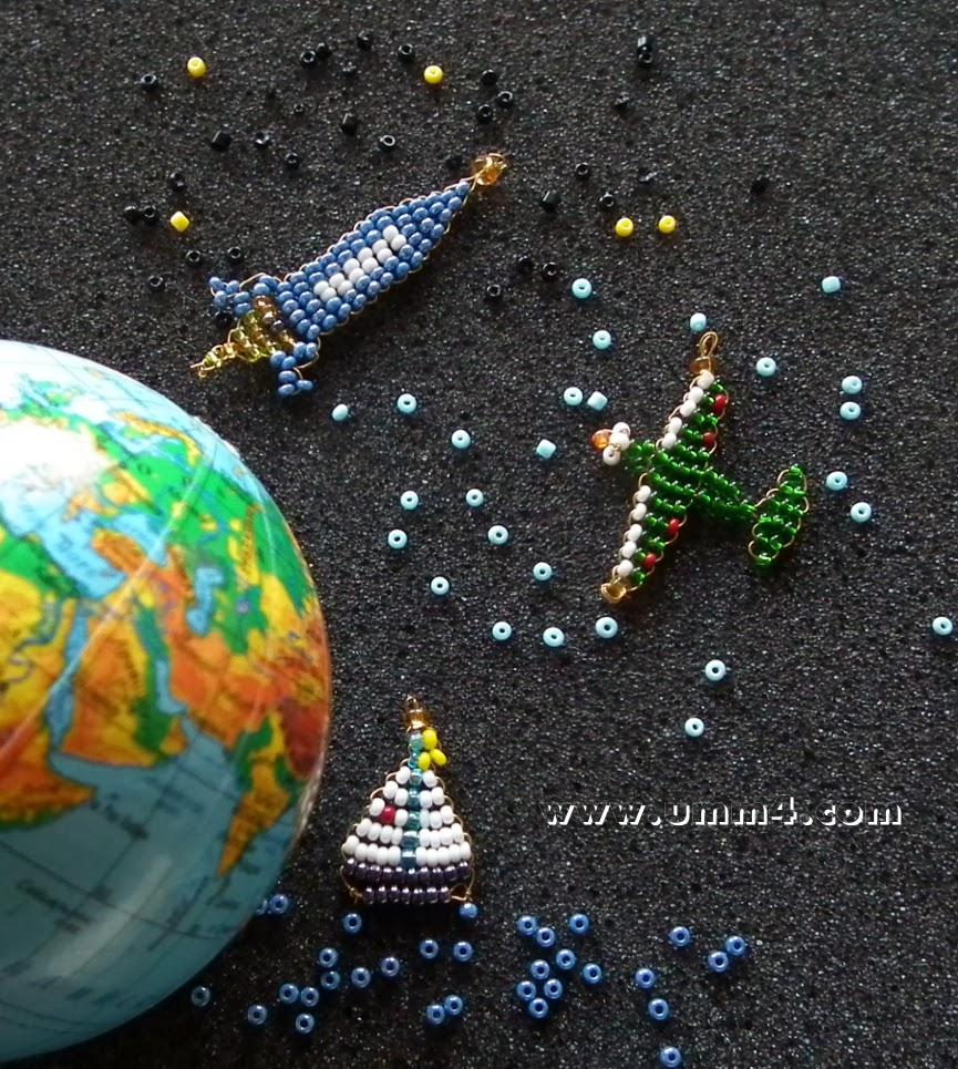 Космос поделки из бисера 76