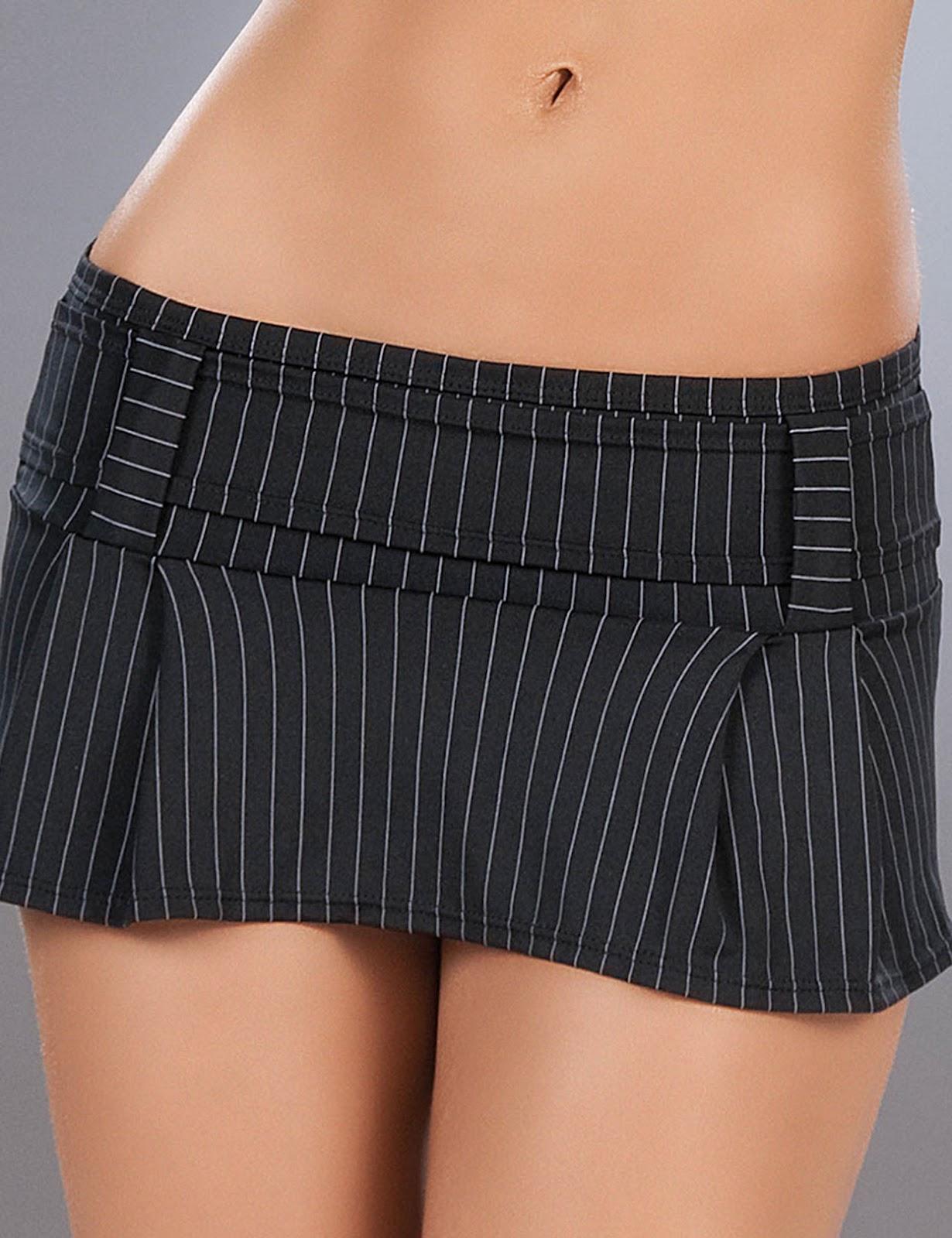 Micro mini skirt women