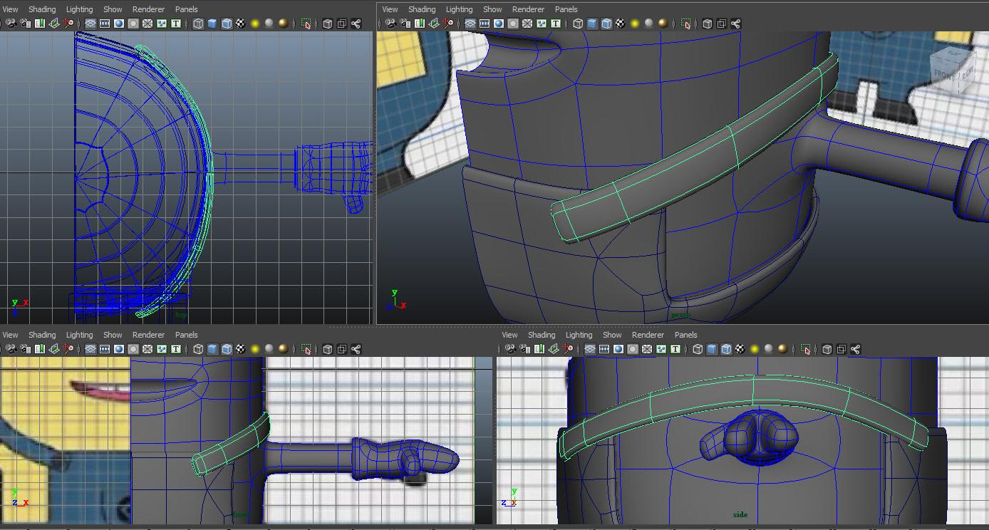 Modeling belt 08