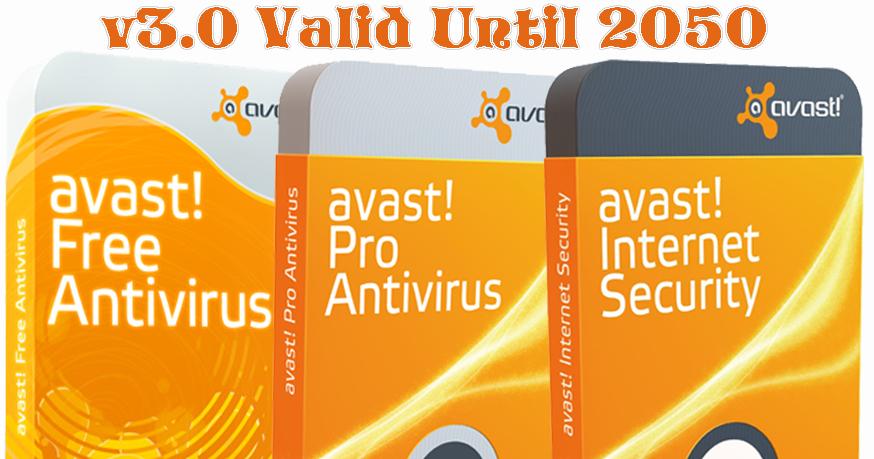 Avast Permanent Activator v3.0 Valid Until 2050 Final