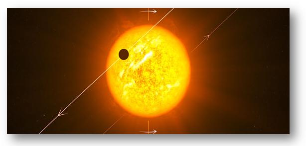 Exemplo de Trânsito Planetário