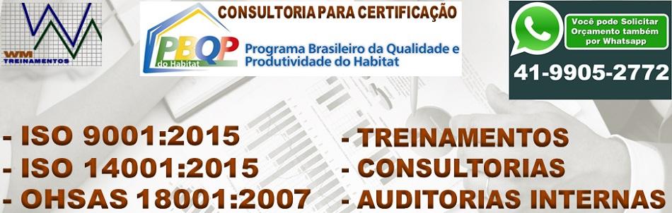 WM Treinamentos e Consultorias ISO 9001