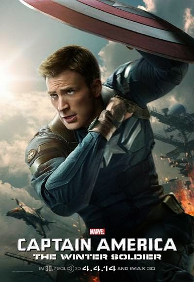 Captain America The Winter Soldier promo art