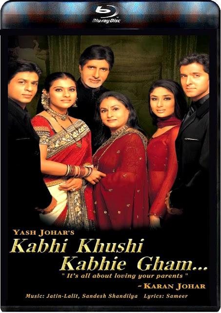 Kabhi Khushi Kabhie Gham (2001) - BluRay - 720p - All ...