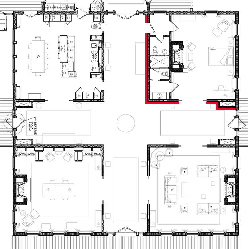 Corbu 39 s cave be my guest Historic house floor plans