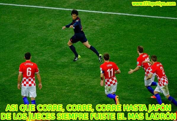 Memé de Humor - Robo a Croacia (Mundial Brasil 2014)
