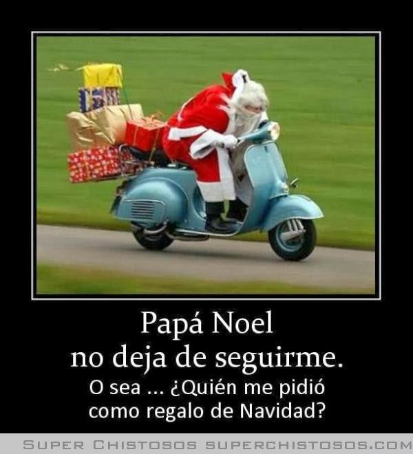 Papá Noel humor desmotivadores