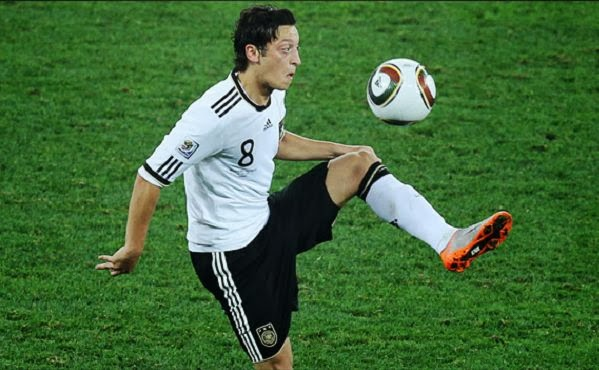 Mesut Ozil Best Players Germany 2013