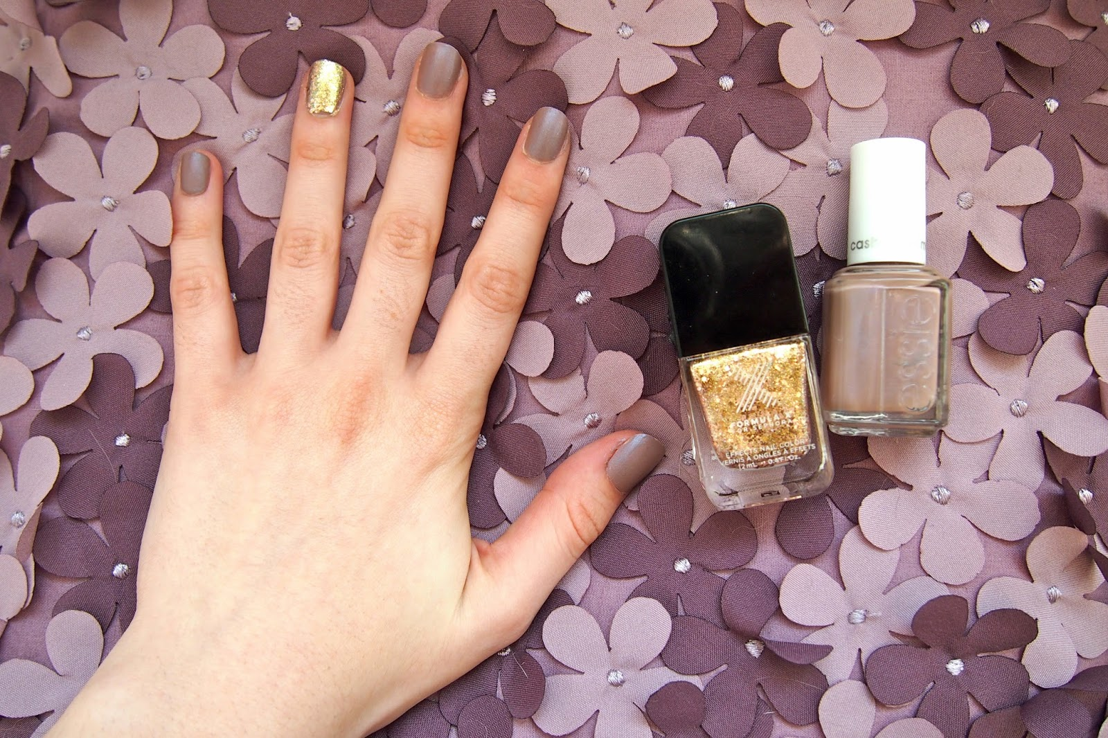 From Alyssa with Love: Essie Comfy in Cashmere Matte Nail Polish