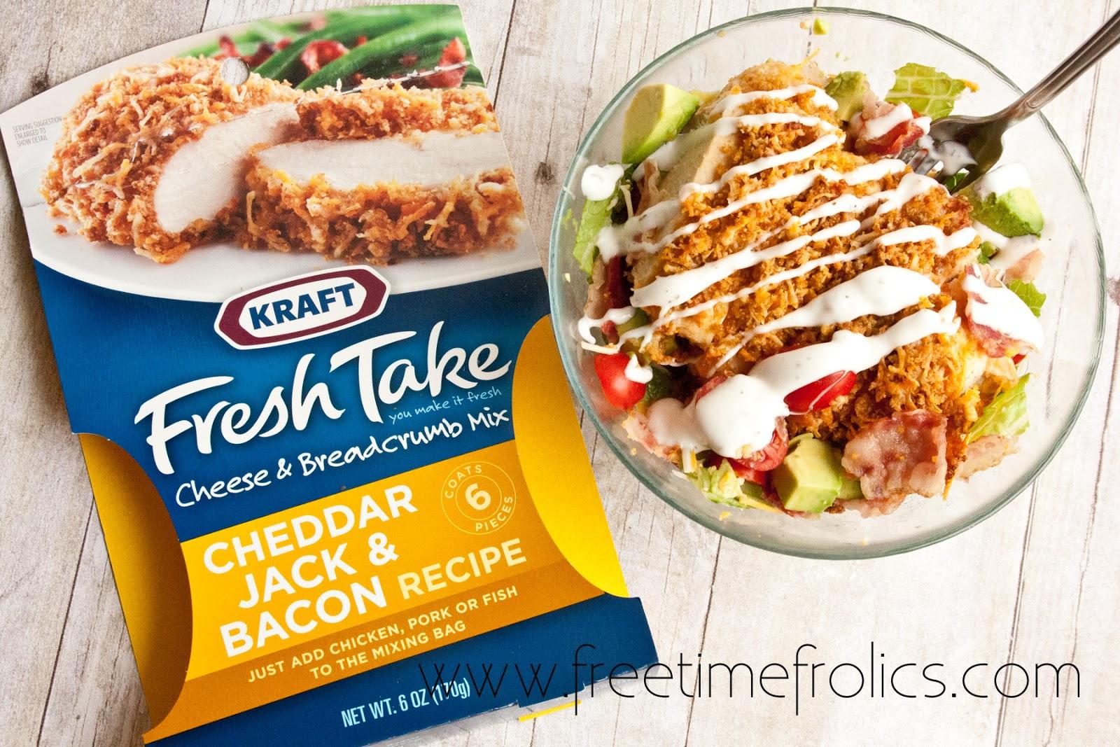 Cheddar, Jack & Bacon Fresh Takes = Amazing salad