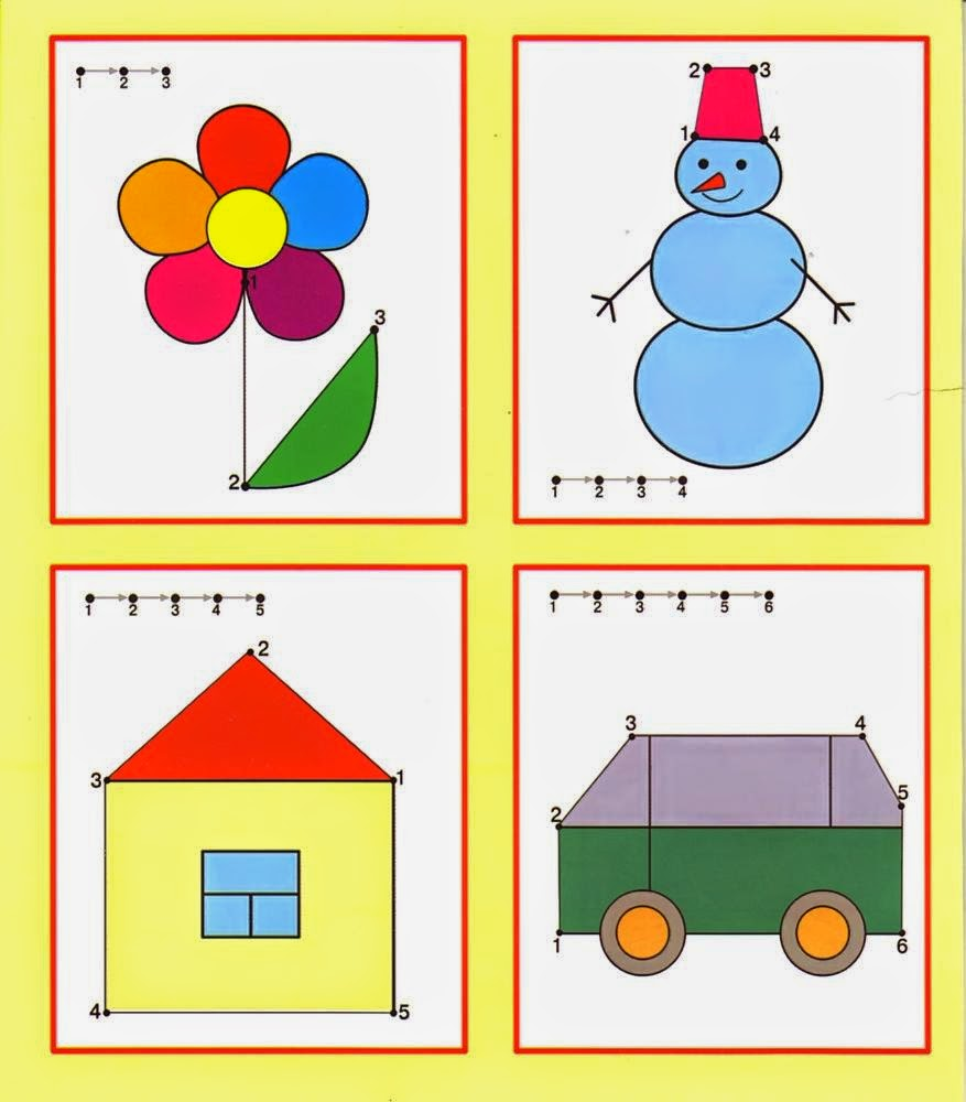 Kids Under 7 Free dot to dot worksheets for kids – Free Dot to Dot Worksheets for Kindergarten