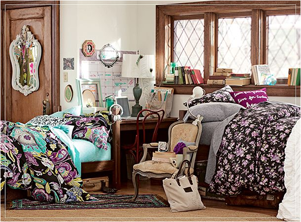 Stylish Dorm Rooms Ideas for Girls  Room Design Inspirations ~ 170222_Trendy Dorm Room Ideas