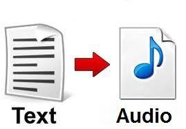 تحويل النص إلى صوت دون استعمال برامج