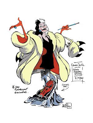 Disney Busts - Grand Jester Studios (depuis 2009) - Page 2 Cruella+De+Ville+Bust_final_small