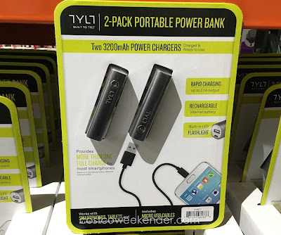 Power your device with the Tylt Battery Charger