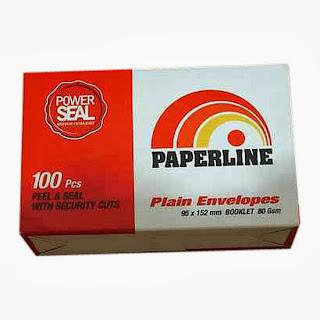 amplop pendek paperline 104