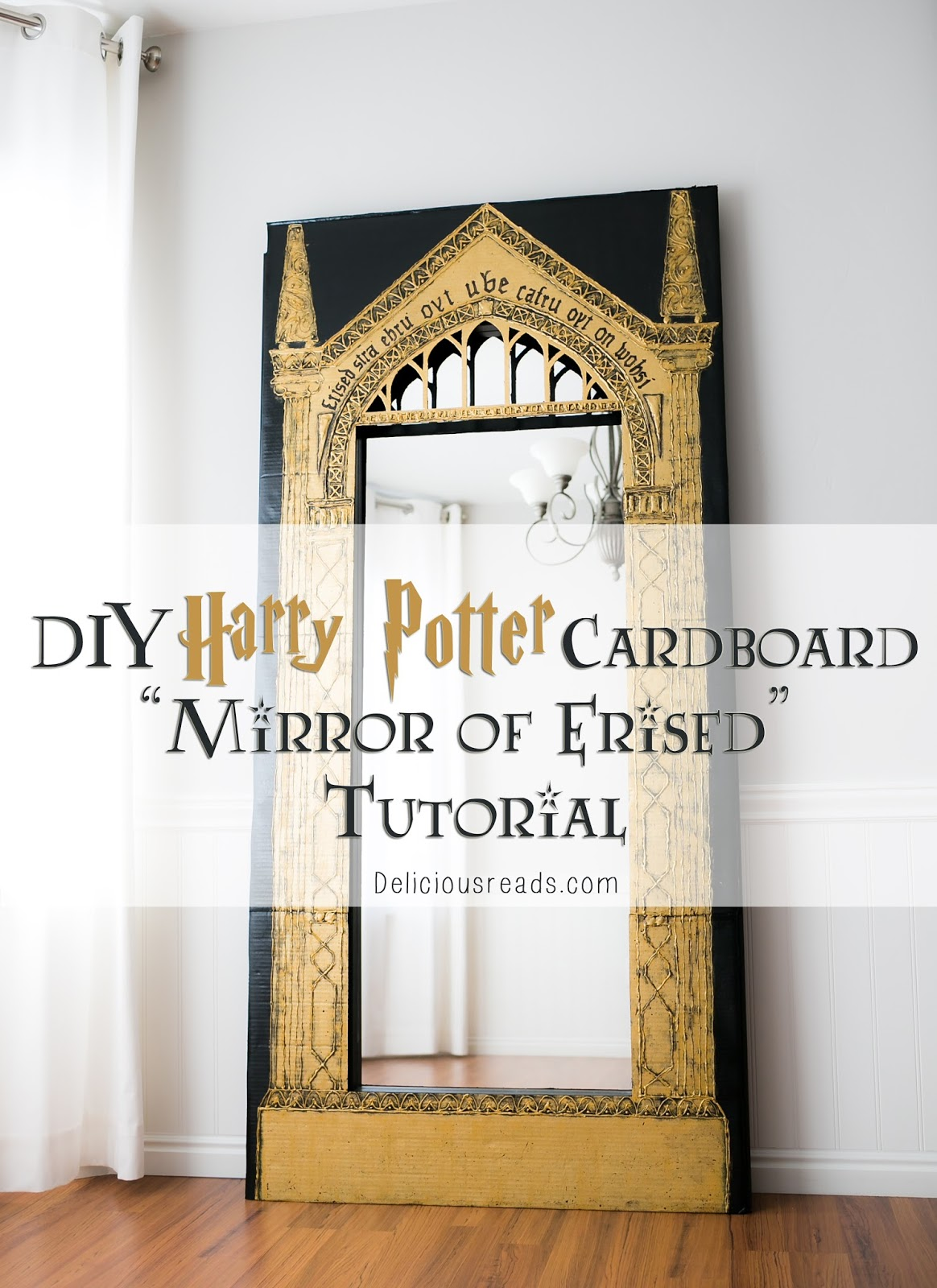 Delicious Reads: DIY Harry Potter Cardboard \