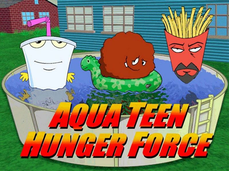The most recent season of Aqua Teen Hunger Force, re-branded Aqua Unit ...