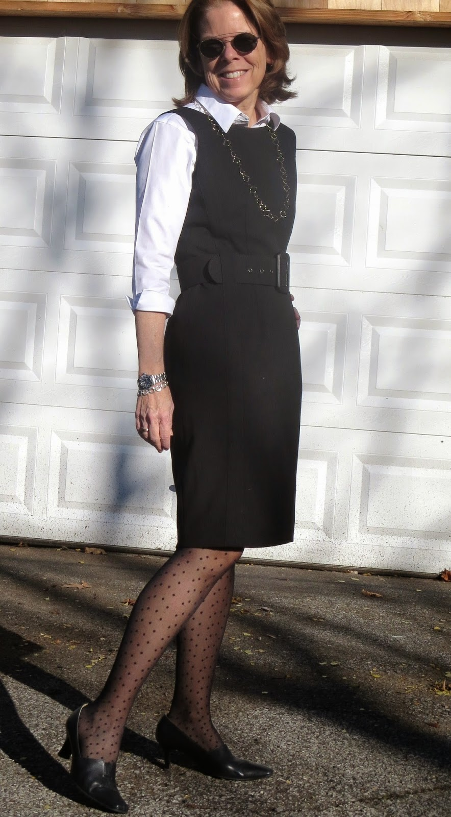 Professional outfit for women over 50