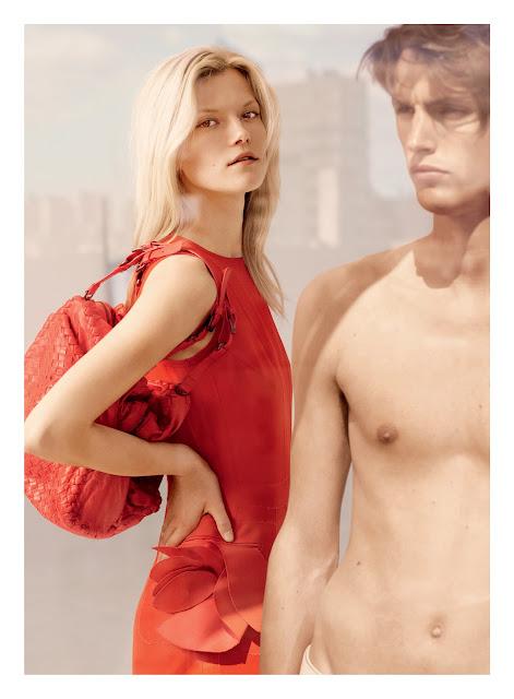 Bottega Veneta's Cruise 2012 Ad Campaign